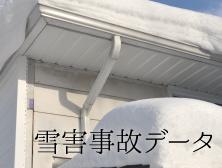 雪害事故データ