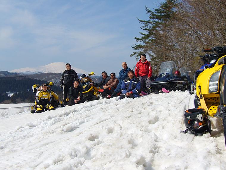 梅の里 雪遊会
